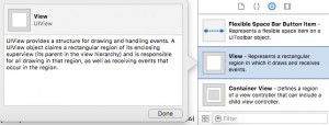 Add an UIView in XCode Storyboard