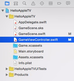 Swift Tutorial Apple TV remote 5