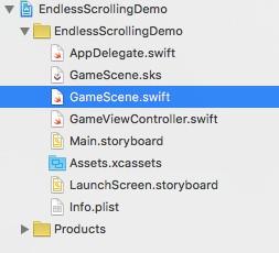 SpriteKit Scrolling Tutorial 12
